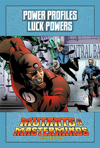 Mutants & Masterminds Power Profile: Luck Powers (PDF)