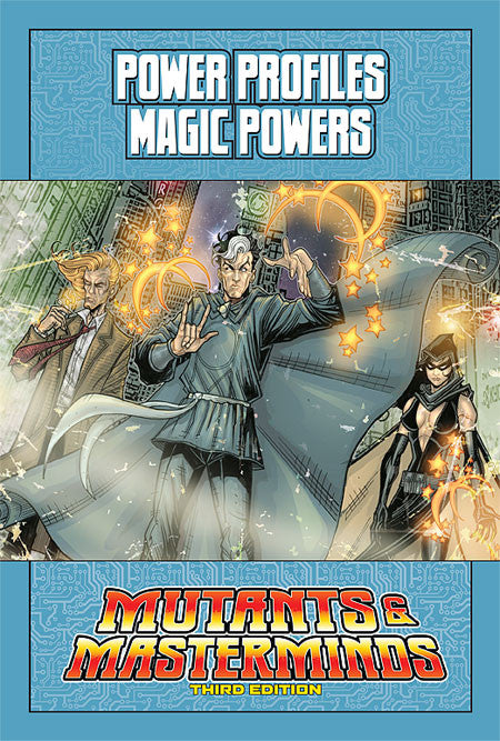 Mutants & Masterminds Power Profile: Magic Powers (PDF)