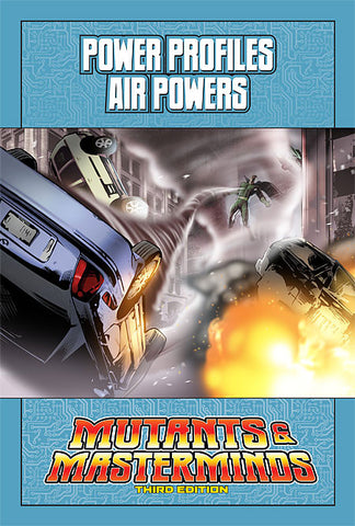 Mutants & Masterminds Power Profile: Air Powers (PDF)