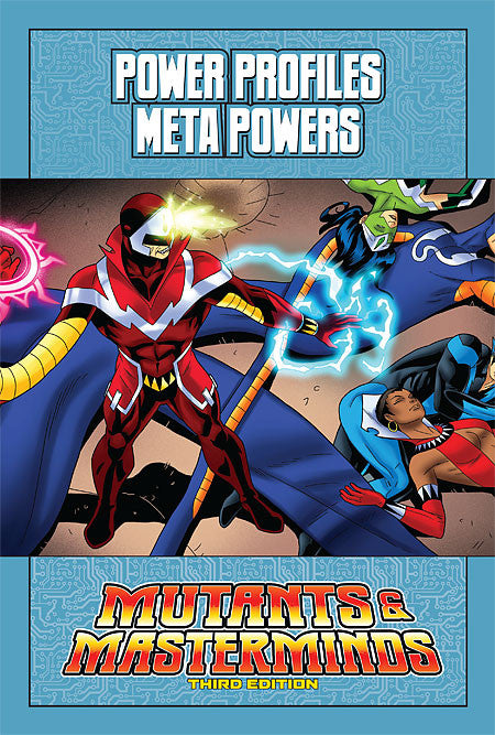 Mutants & Masterminds Power Profile: Meta-Powers (PDF)