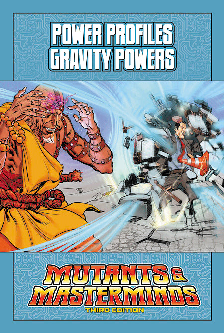 Mutants & Masterminds Power Profile: Gravity Powers (PDF)