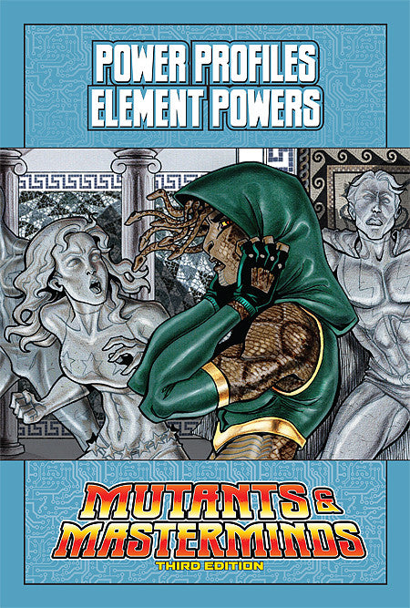 Mutants & Masterminds Power Profile: Element Powers (PDF)