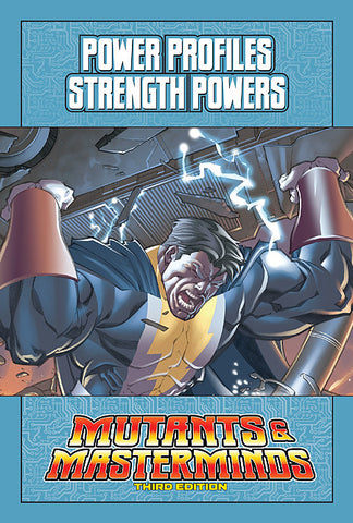 Mutants & Masterminds Power Profile: Strength Powers (PDF)