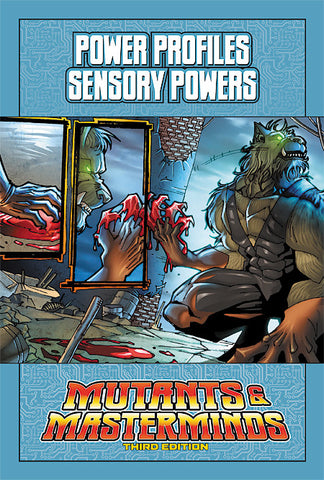 Mutants & Masterminds Power Profile: Sensory Powers (PDF)