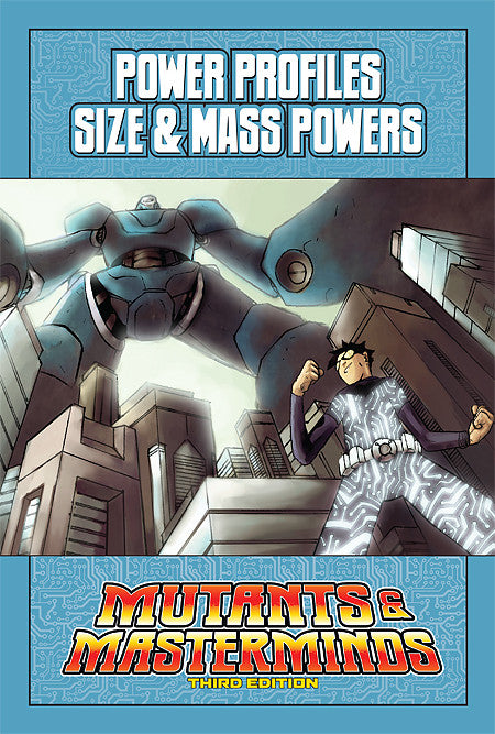 Mutants & Masterminds Power Profile: Size & Mass Powers (PDF)