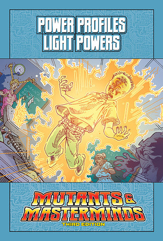 Mutants & Masterminds Power Profile: Light Powers (PDF)