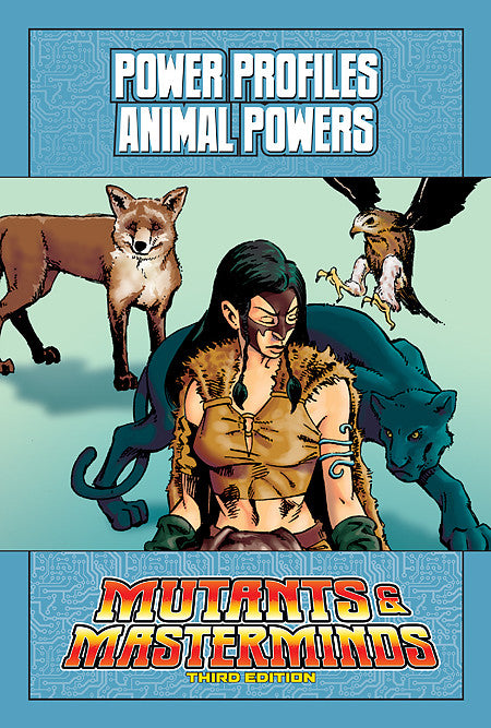Mutants & Masterminds Power Profile: Animal Powers (PDF)