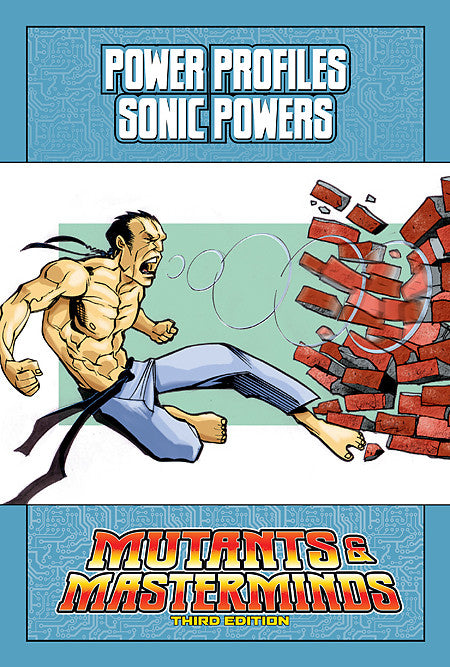Mutants & Masterminds Power Profile: Sonic Powers (PDF)