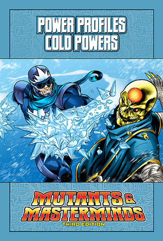 Mutants & Masterminds Power Profile: Cold Powers (PDF)