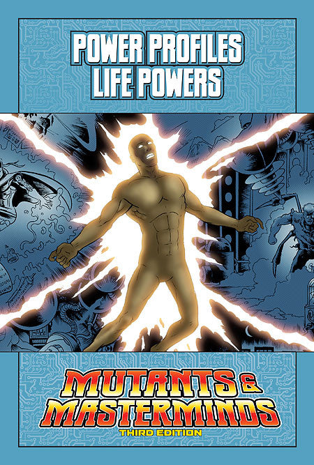 Mutants & Masterminds Power Profile: Life Powers (PDF)