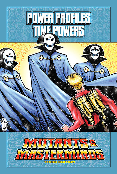 Mutants & Masterminds Power Profile: Time Powers (PDF)