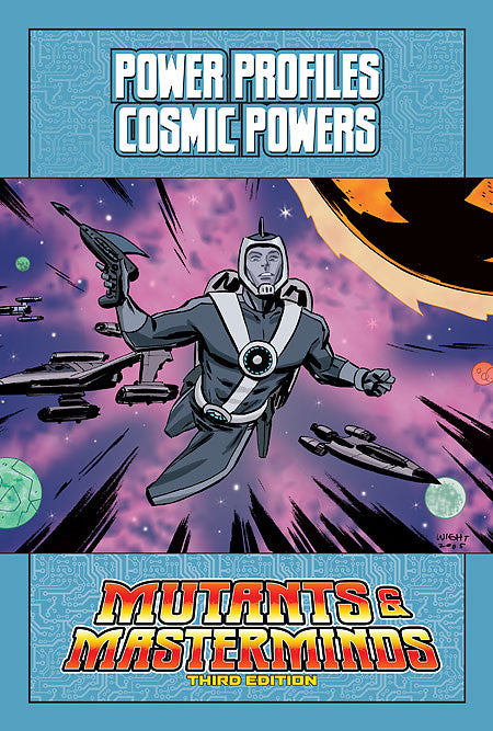 Mutants & Masterminds Power Profile: Cosmic Powers (PDF)