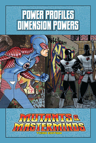Mutants & Masterminds Power Profile: Dimension Powers (PDF)