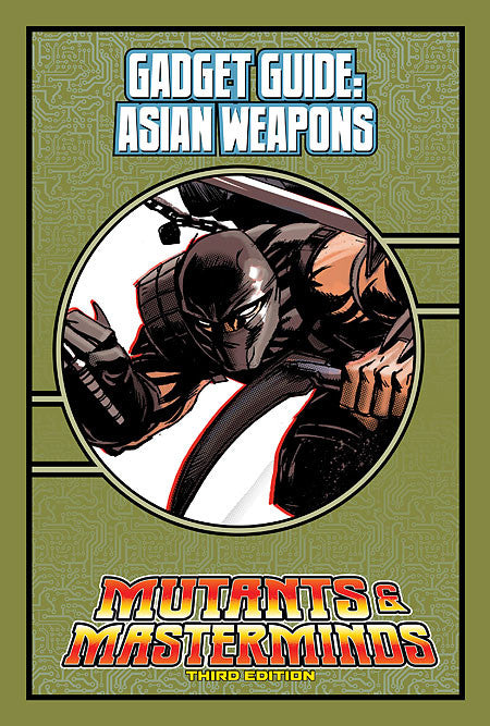 Mutants & Masterminds Gadget Guide: Asian Weapons (PDF)