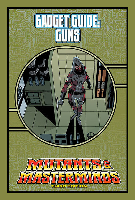 Mutants & Masterminds Gadget Guide: Guns (PDF)