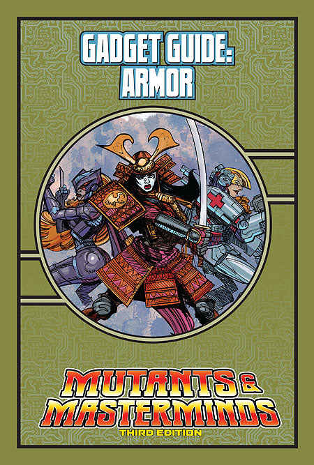 Mutants & Masterminds Gadget Guide: Armor (PDF)
