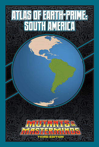 Atlas of Earth-Prime: South America (PDF)