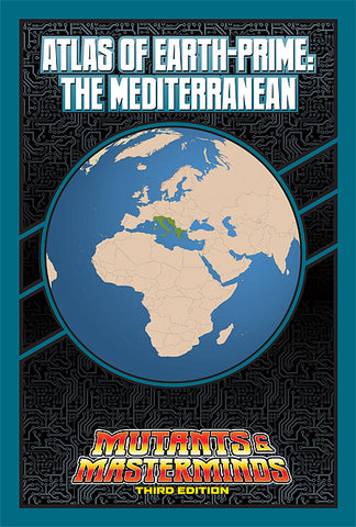 Atlas of Earth-Prime: The Mediterranean (PDF)
