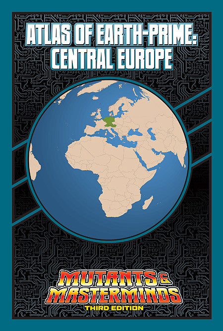 Atlas of Earth-Prime: Central Europe (PDF)