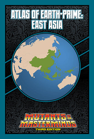 Atlas of Earth-Prime: East Asia (PDF)