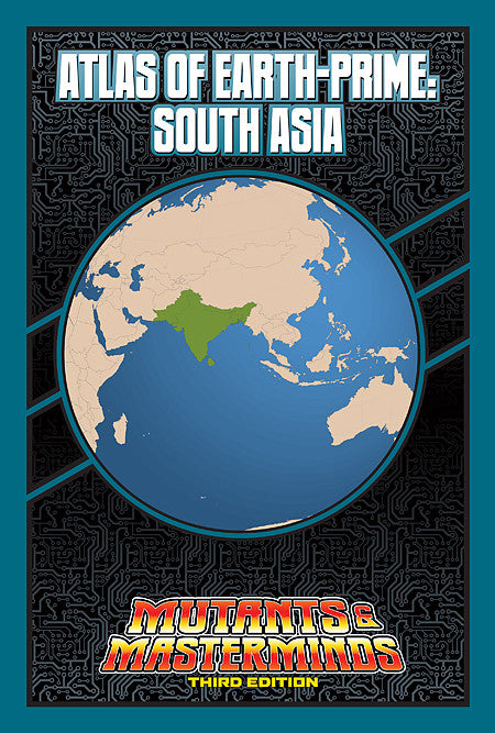 Atlas of Earth-Prime: South Asia (PDF)