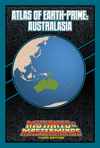 Atlas of Earth-Prime: Australasia (PDF)