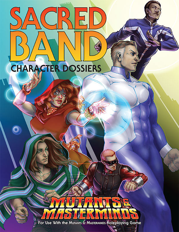 Sacred Band Character Dossiers (Free PDF + Hero Lab files)