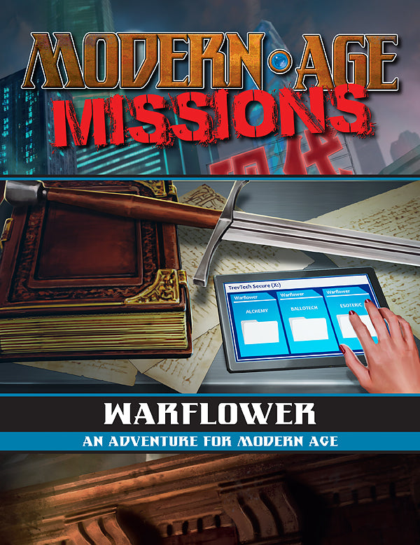 Warflower (Modern AGE Missions PDF)