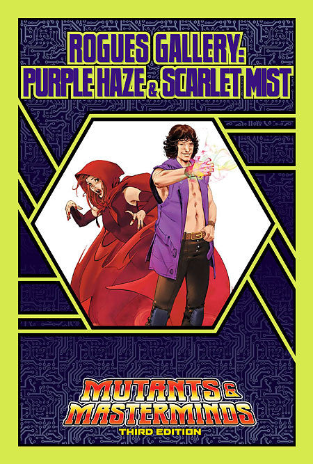 Rogues Gallery: Purple Haze and Scarlet Mist (PDF)