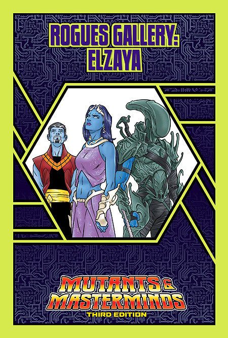 Rogues Gallery: Elzaya, Queen-Empress of the Infraverse (PDF)