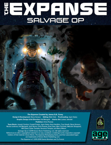 Salvage Op (An Adventure PDF For The Expanse RPG )