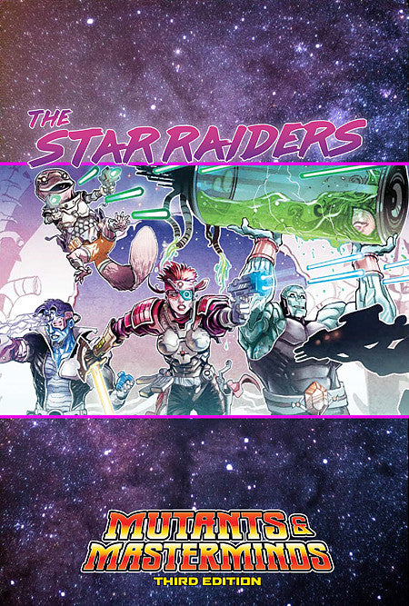 Star Raiders (Mutants & Masterminds PDF)