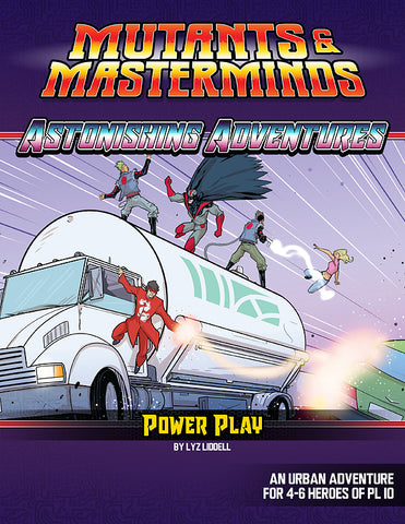 Astonishing Adventures: Power Play (PDF)