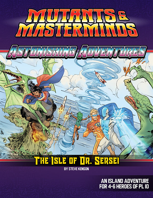 Astonishing Adventures: The Isle of Dr. Sersei (PDF)