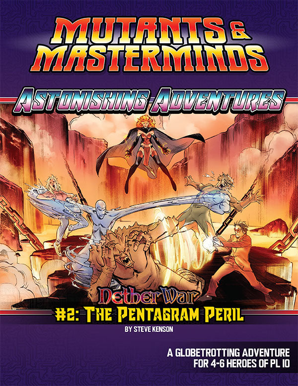 Astonishing Adventures: NetherWar 2, The Pentagram Peril (PDF)
