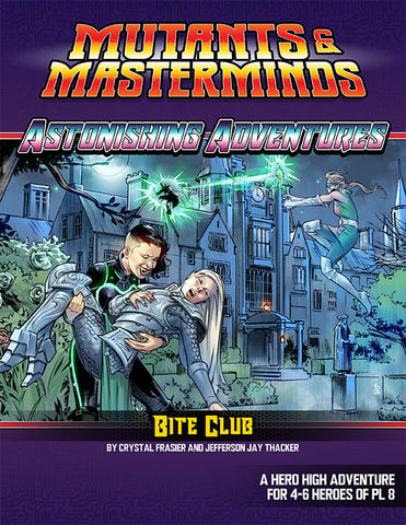 Astonishing Adventures: Bite Club (PDF)