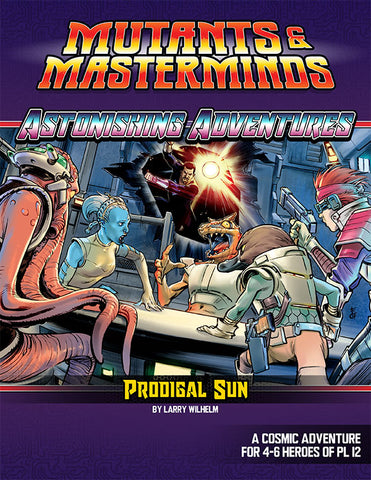Astonishing Adventures: Prodigal Sun (PDF)