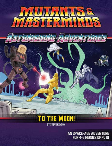 Astonishing Adventures: To the Moon! (PDF)