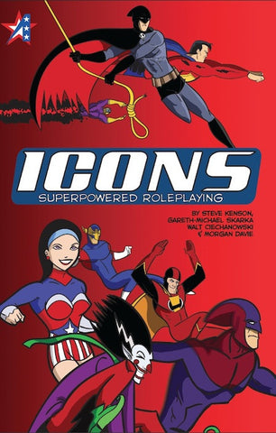 ICONS Superpowered Roleplaying