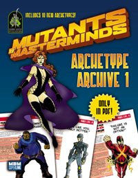 Mutants & Masterminds Archetype Archive 1 (PDF)