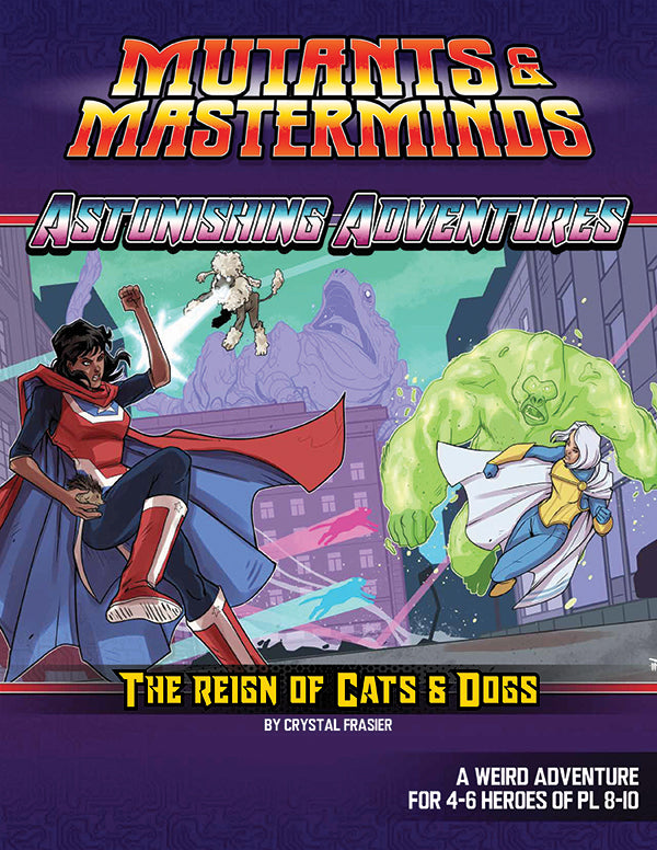 Astonishing Adventures: The Reign of Cats & Dogs (PDF)