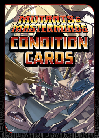 Mutants & Masterminds Condition Cards