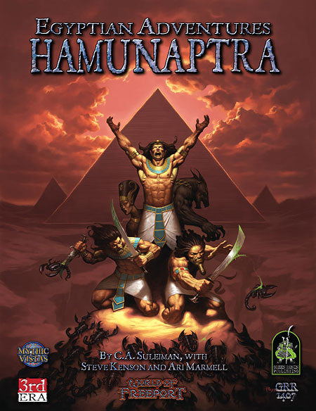 Egyptian Adventures: Hamunaptra (PDF)