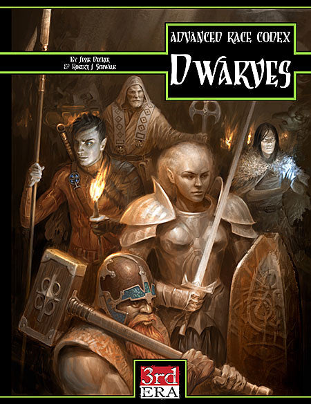 Advanced Race Codex: Dwarves (PDF)