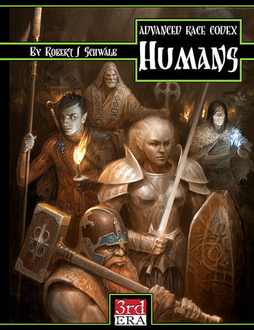 Advanced Race Codex: Humans (PDF)