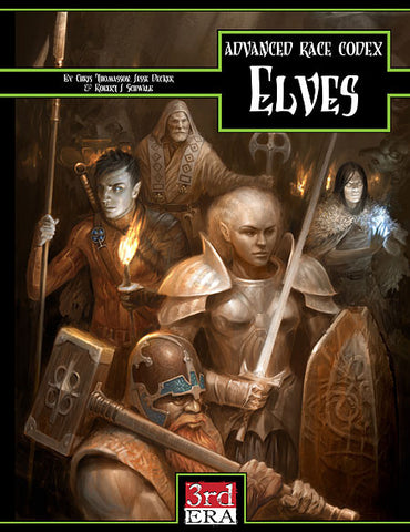 Advanced Race Codex: Elves (PDF)