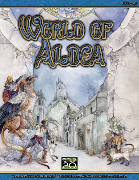Blue Rose: World of Aldea (Print)