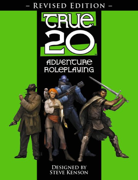 True20 Adventure Roleplaying, Revised Edition (Scratch & Dent)