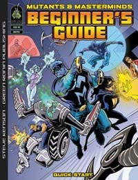 Mutants & Masterminds Beginner's Guide (PDF)