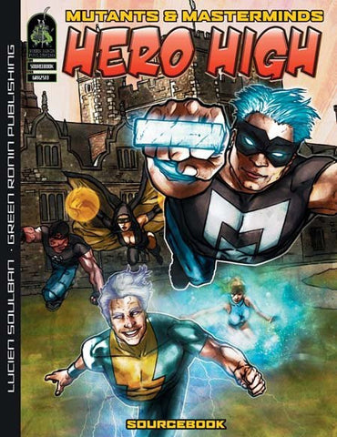 Hero High (M&M 2E PDF)
